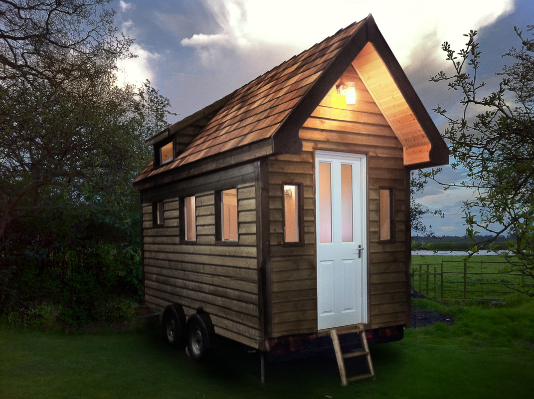 Images of tiny houses custom built for clients in the uk for House build ideas
