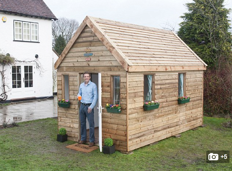 Tiny house kit tiny house uk Wooden homes to build