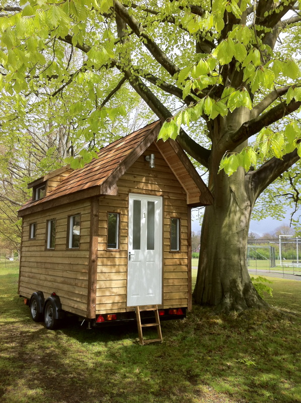 tiny houses have arrived in the uk - Mini Houses On Wheels