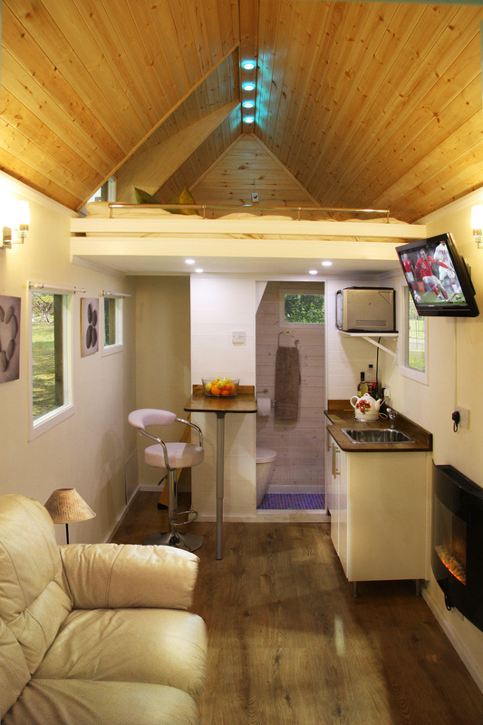 Images of tiny houses custom built for clients in the uk for Tiny house interior ideas